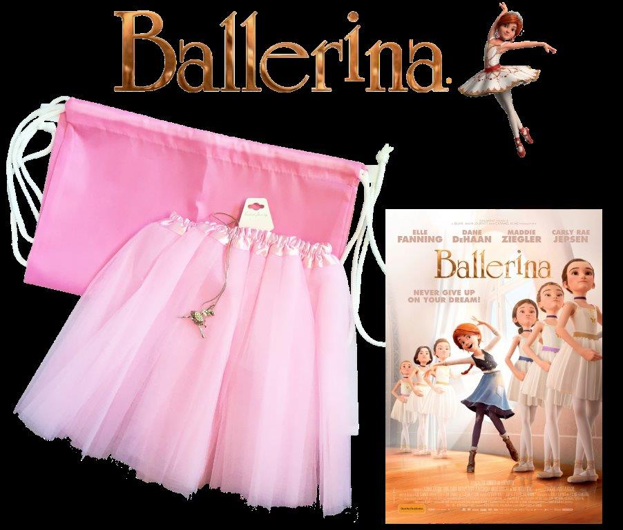 Ballerina movie prize packs