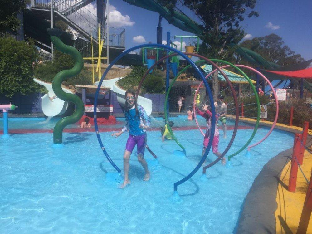"The big splash big kids fun pool with slides ""Splash Island"" costs $12 alone"