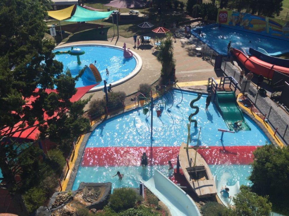 The Big Splash Water Park has a lot of swimming and fun options