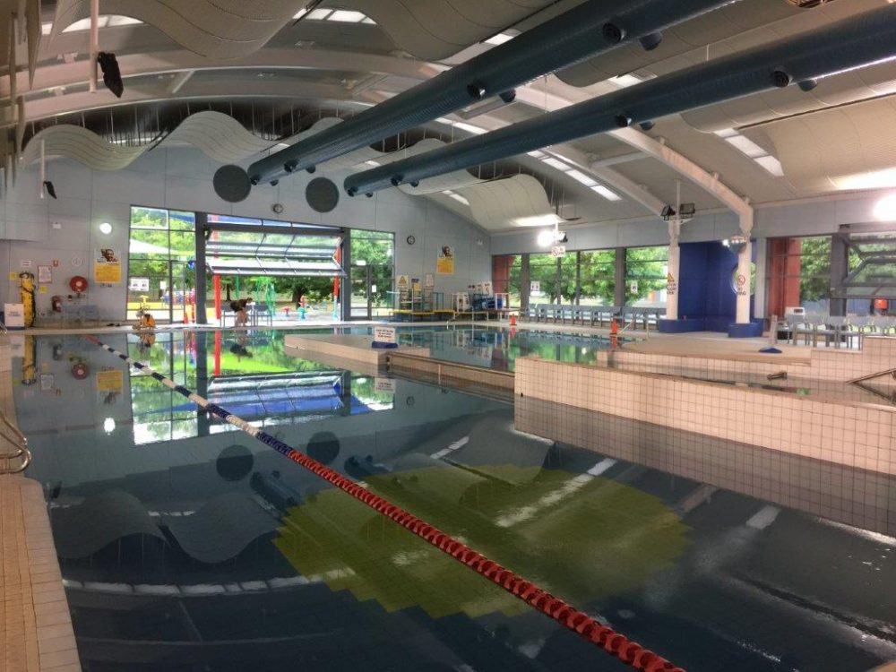 The Lakeside Leisure Centre family swimming pool