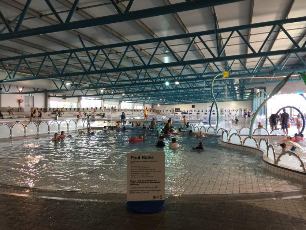Gungahlin swimming pool