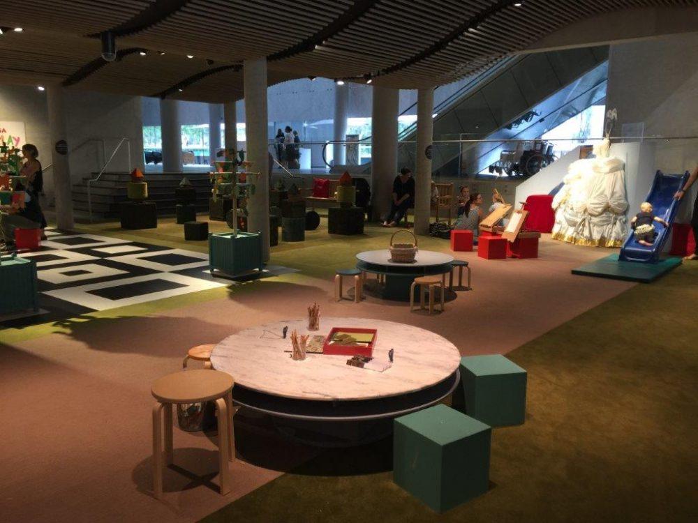 The NGA Play area