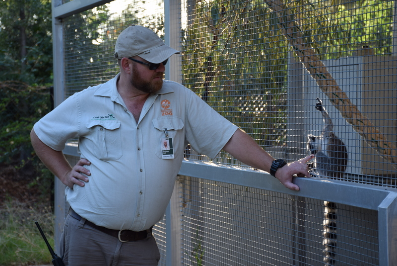 It was lovely to see the close relationships the zoo keepers had formed with the animals