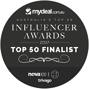 We came #44 out of 2000 entries in the Top 50 Influencer Awards!