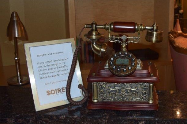 Sofitel Sydney Belle's Reading Corner telephone