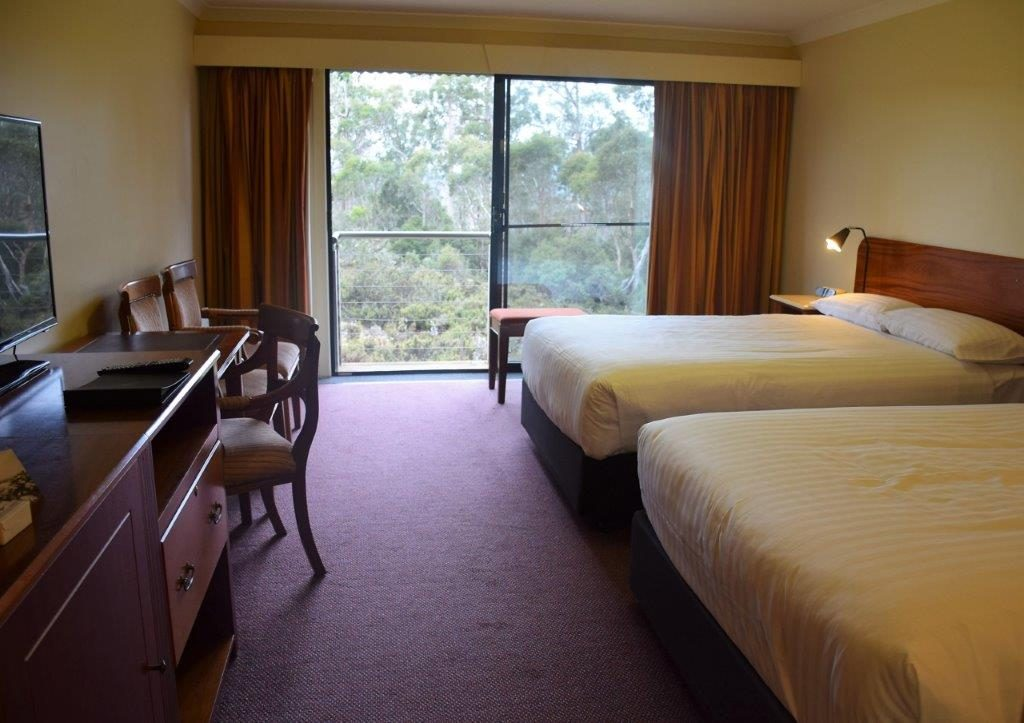 Cradle Mountain Hotel room