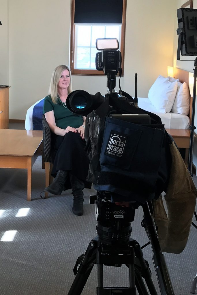 Nine News interview with Let's go Mum about cruise layby travel with Layaway Travel