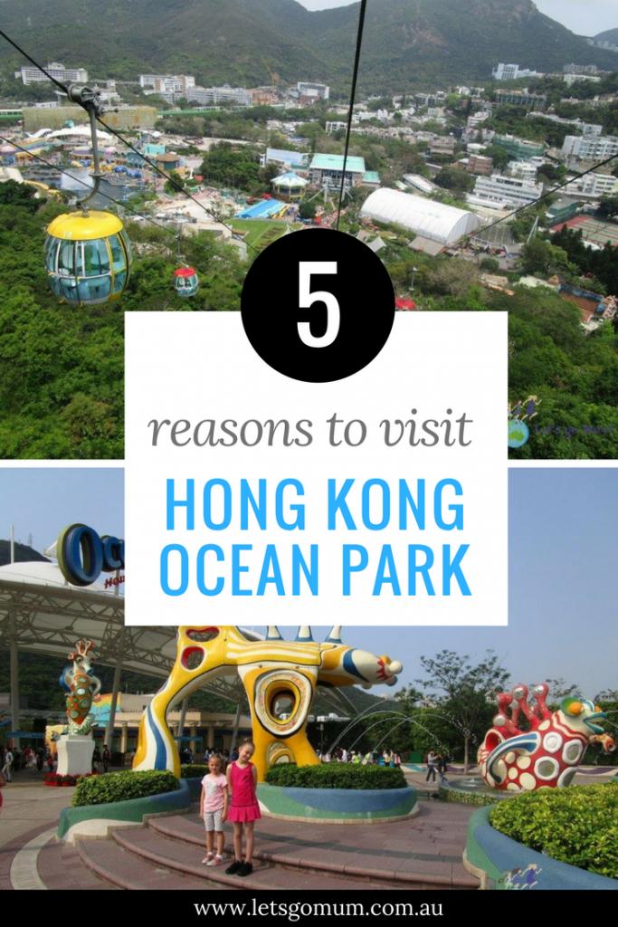 5 reasons why Hong Kong Ocean Park is better than Disneyland, Hong Kong