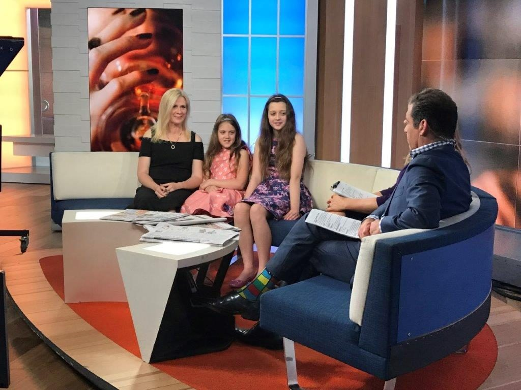 Our travel blog family was interviewed by Channel 7 network's Weekend Sunrise