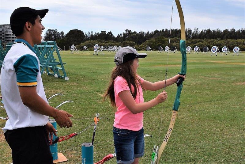 Sydney Olympic Park Archery Centre coach