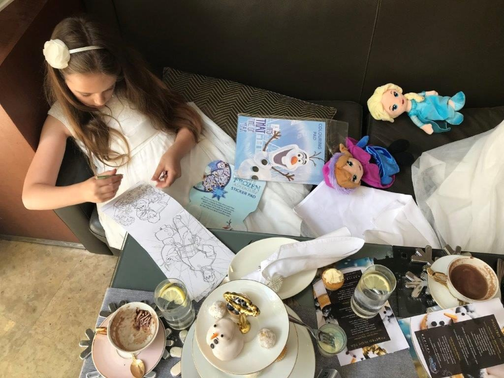 Sofitel Sydney Disney Frozen High Tea