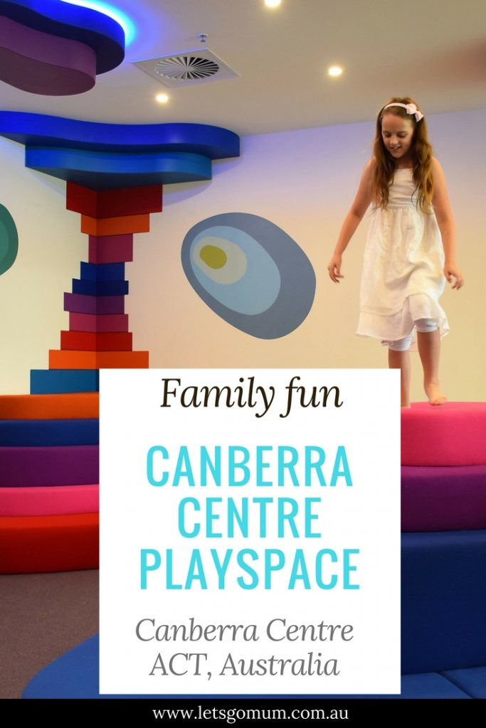 The Let's go Mum family were invited to the opening of an exciting new family play facility in Canberra - the Canberra Centre Play Space.