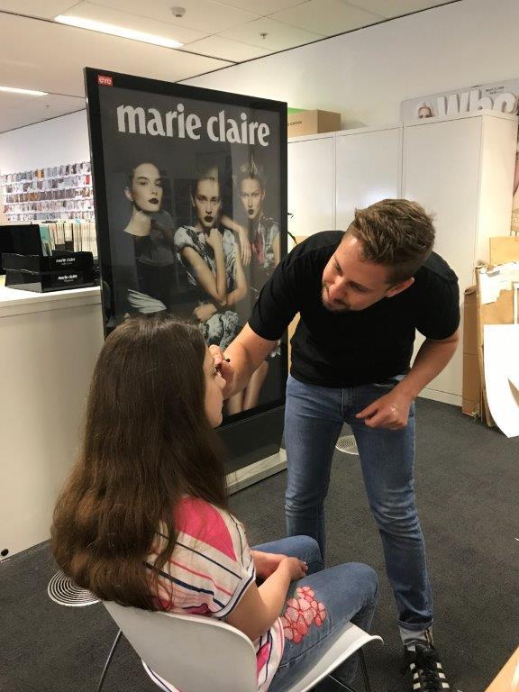Marie Claire makeup