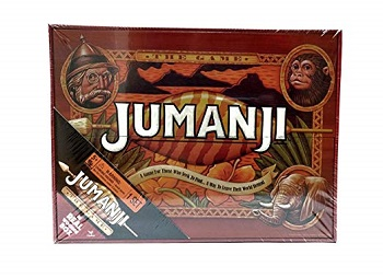Jumanji wooden box