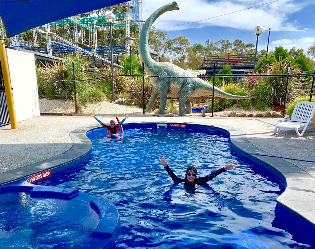 BIG4 Traralgon Park Lane Holiday Park swimming pool