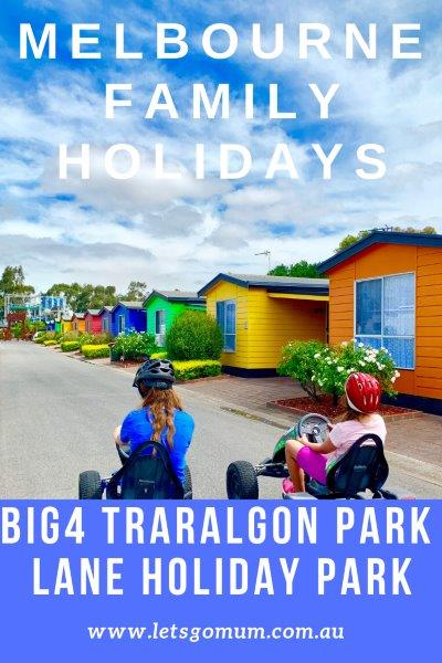 BIG4 Traralgon Park Lane Holiday Park in Gippsland is a great holiday destination, & is absolutely packed with family fun! An easy two-hour drive from Melbourne
