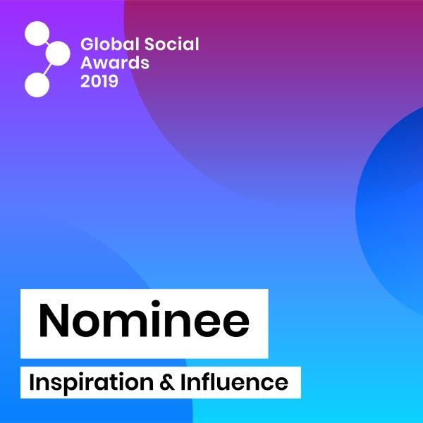 We've been nominated for a Global social award!