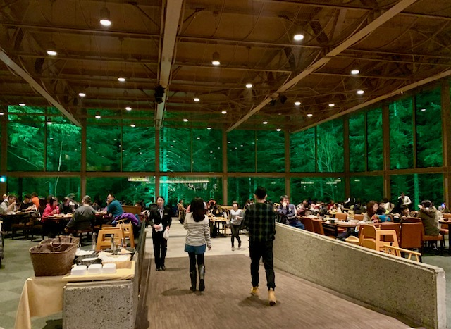 The Nininupuri Forest Restaurant is a beautiful family buffet restaurant