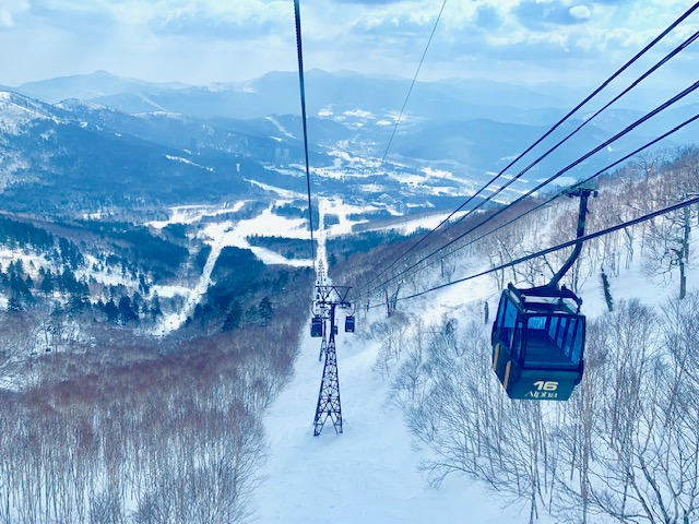 Go for a ride on the Unkai Gondola