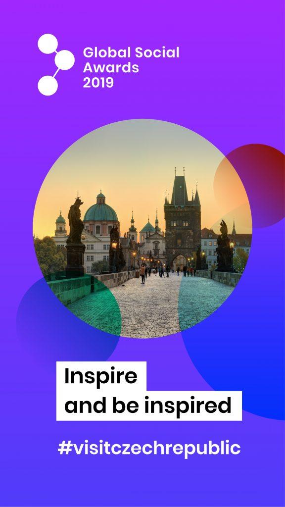 We've been nominated in the Global Social Awards in Prague 2019