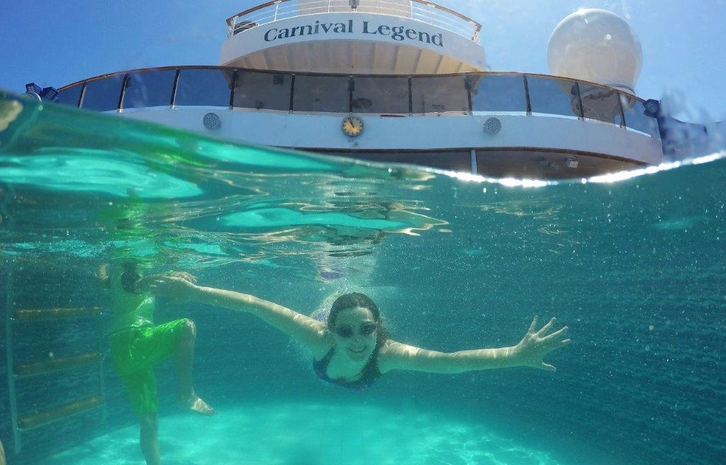 Carnival cruise lines for families