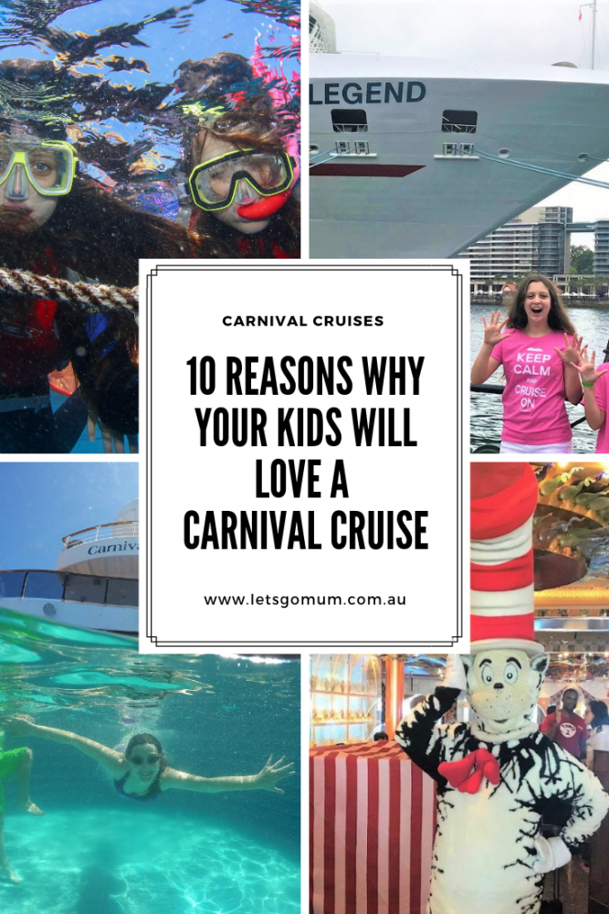 When it comes to families, Carnival Cruises have got it covered - from free ice cream to Dr Seuss characters roaming the ship to peaceful parent retreats...take a look at our ten top reasons why you need to choose Carnival for your family's cruise these holidays...