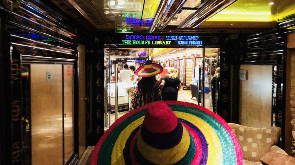 Mexican Night onboard Carnival Cruises