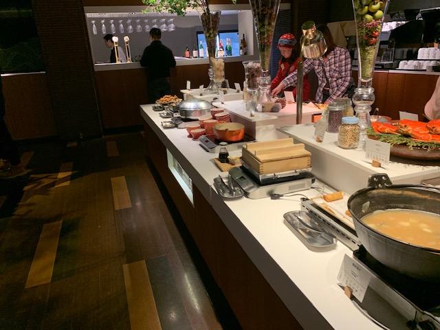 A Buffet Dining hal Cloud dessert