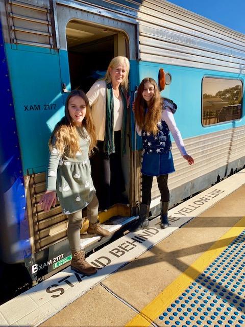NSW TrainLink family trip