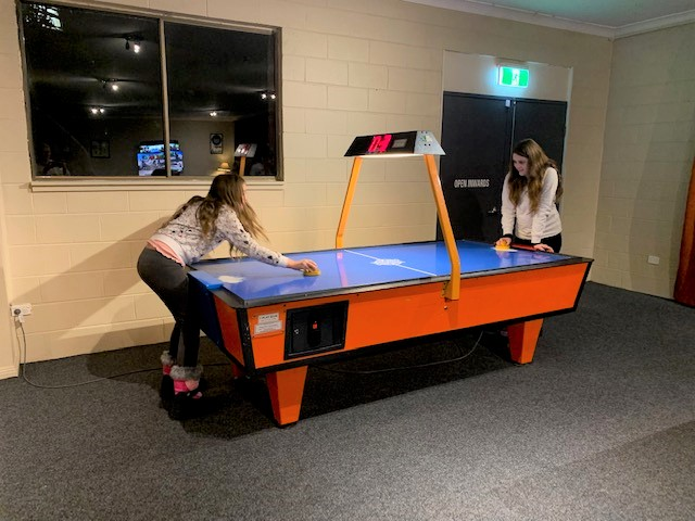 Adults and kids all love the Matterhorn games room