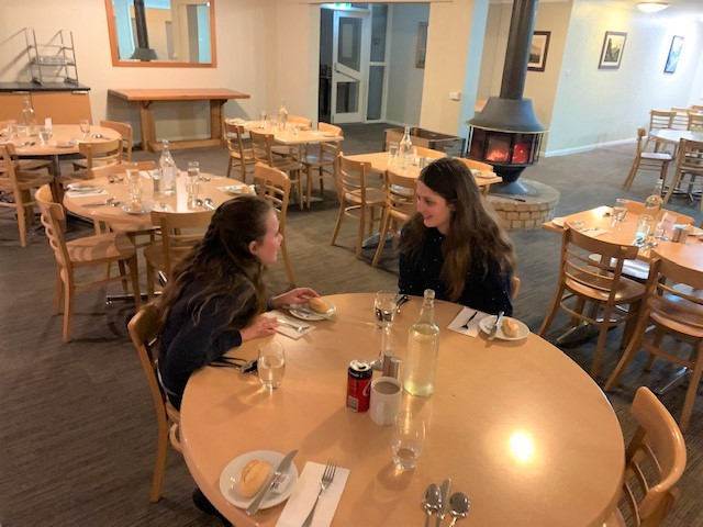 The Matterhorn Ski Lodge dining room