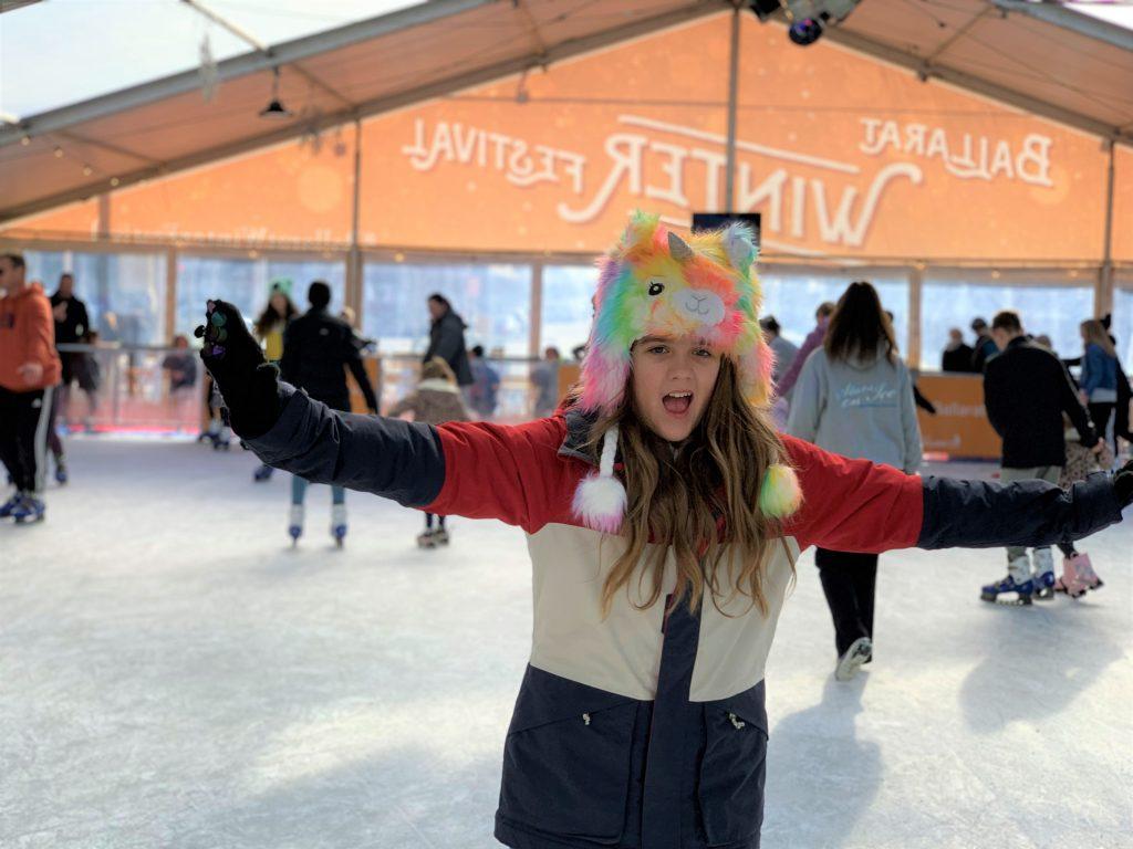 Ballarat Winter Festival ice skating
