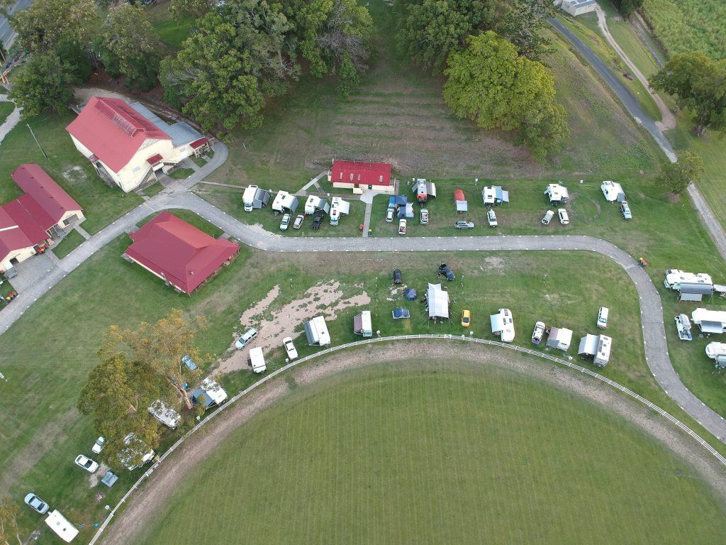Murwillumbah Showground drone view