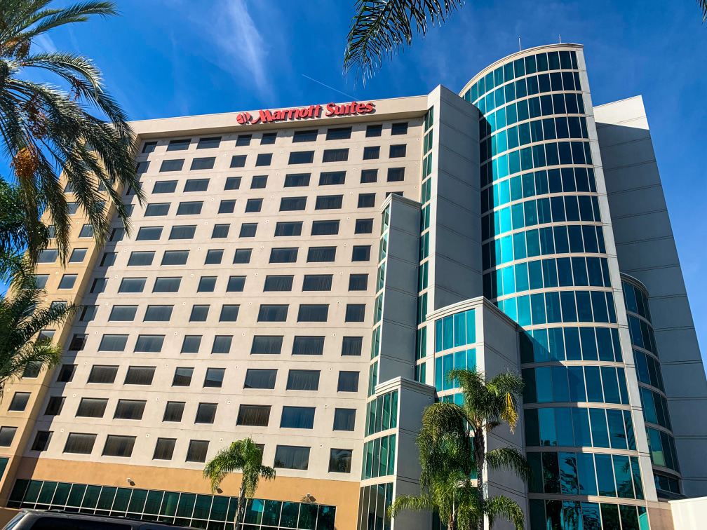 Anaheim Marriott Suites apartment hotel