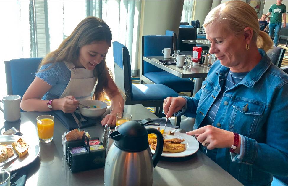 Anaheim Marriott hotel breakfast