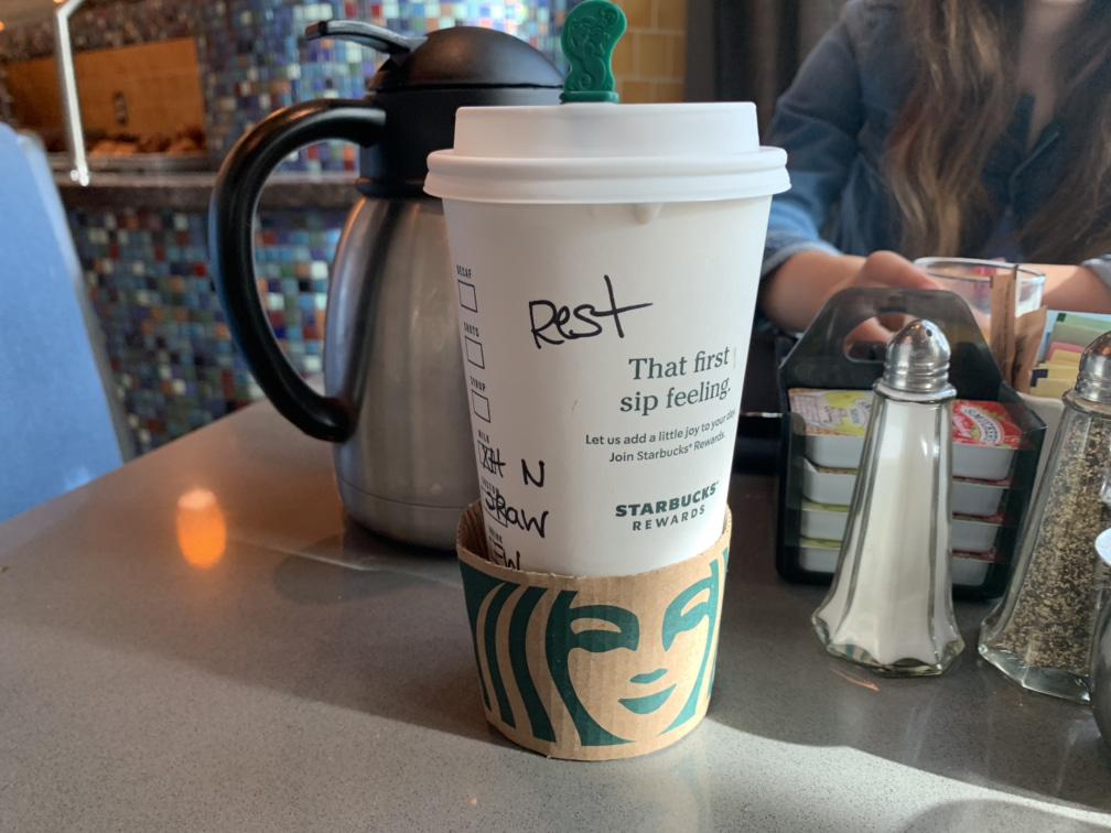 Marriott Starbucks