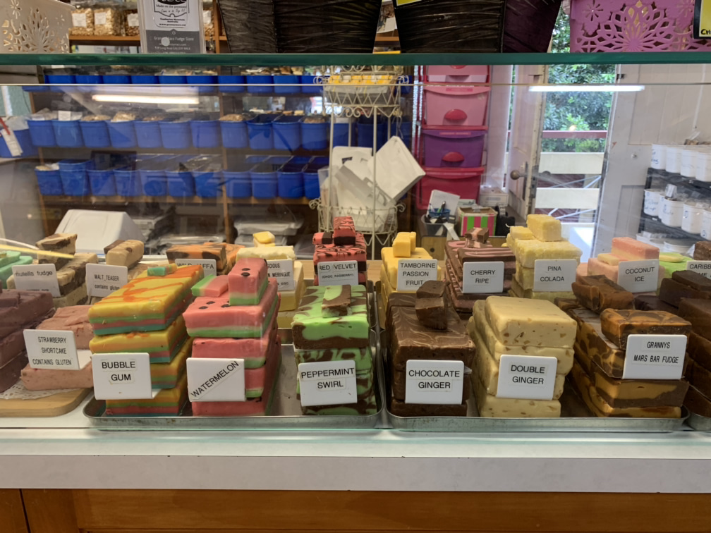 Mount Tamborine lolly shop