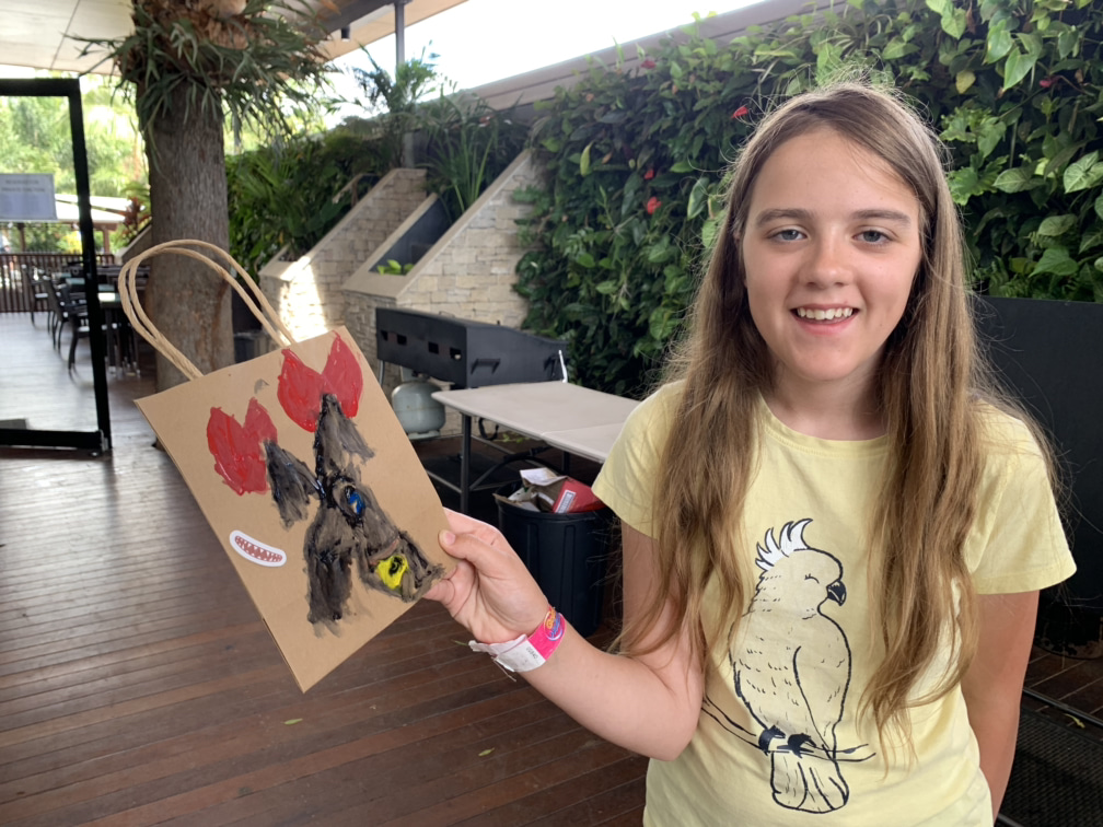 Arts and crafts at Gold Coast BIG4 caravan park