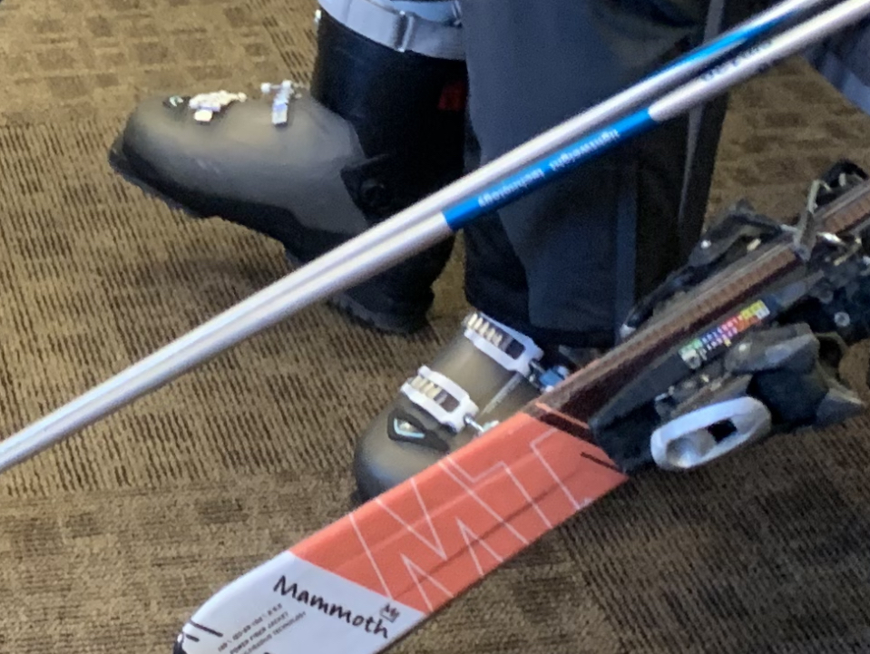 Ski boots, ski and poles hire