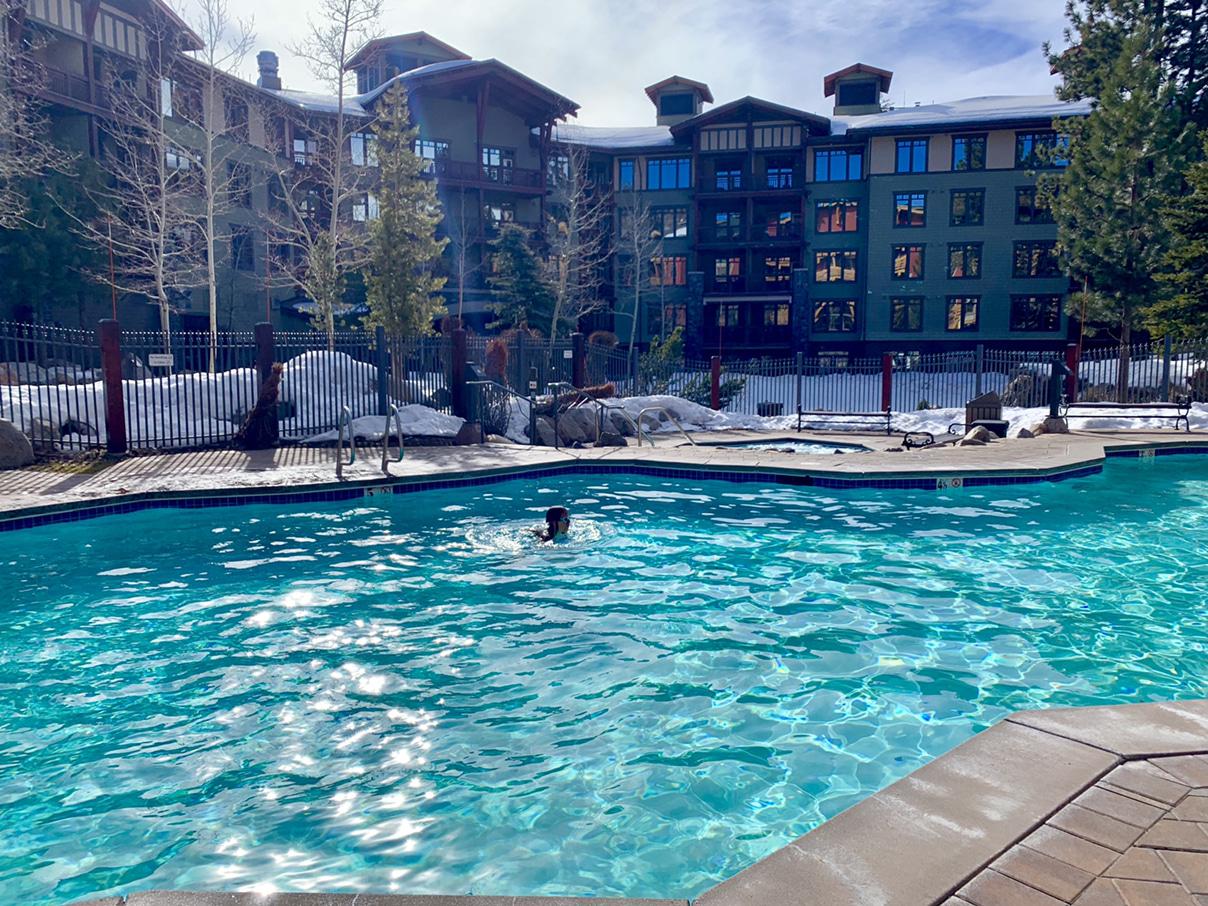 Mammoth swimming pool