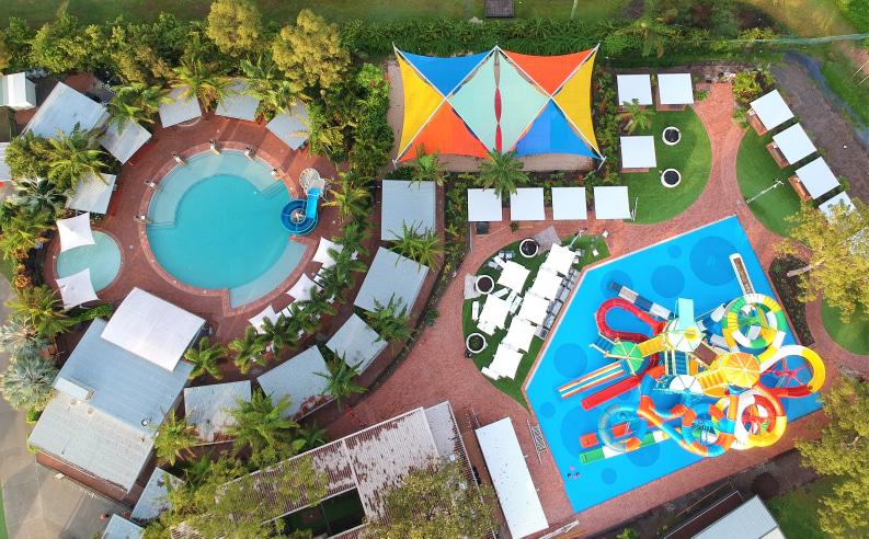 Gold Coast BIG4 Holiday Park water park