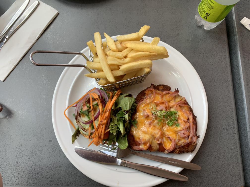 Chicken Parmigiana at Gold Coast BIG4 caravan park