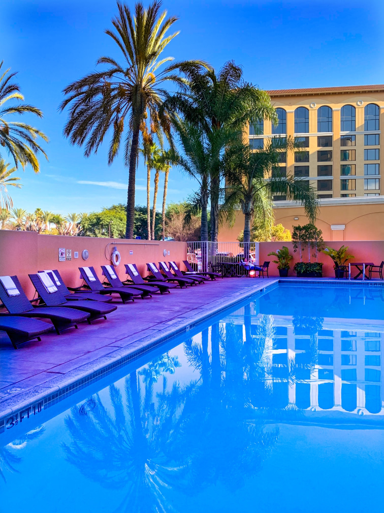 Anaheim Marriott hotel Pinterest Pin