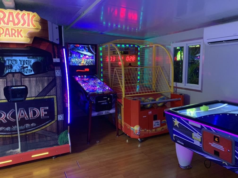 Gold Coast BIG4 Holiday Park games room