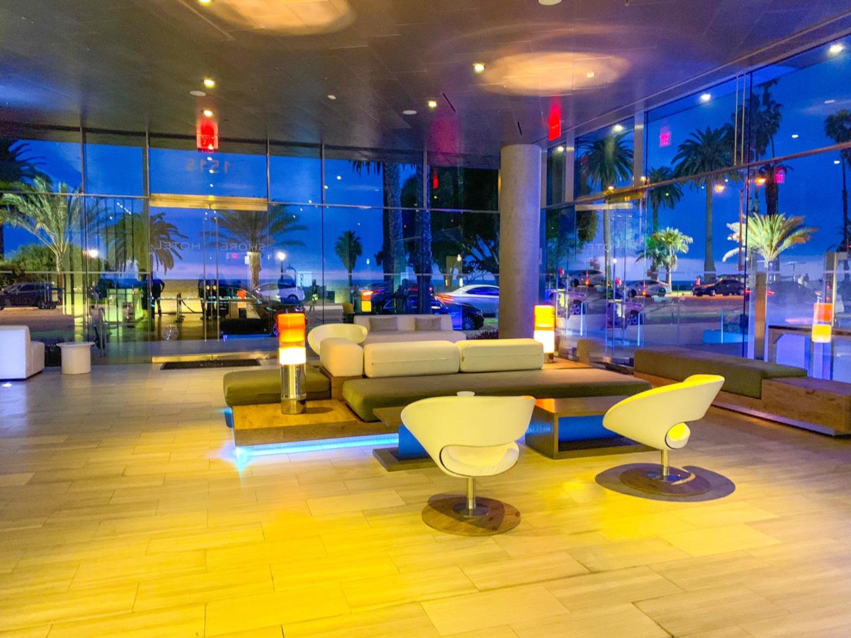 Shore Hotel Reception Lobby