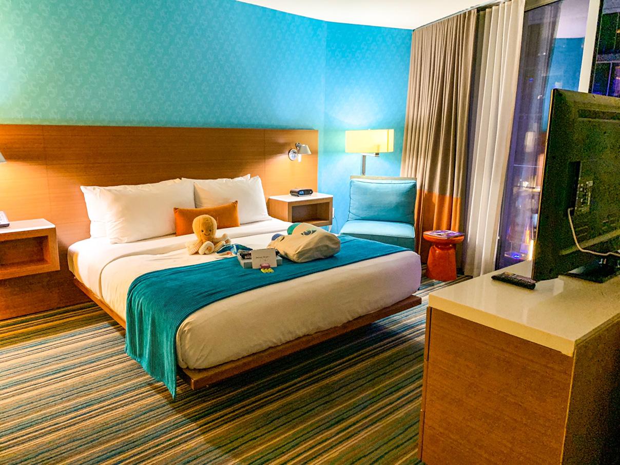 Shore Hotel, Santa Monica bedroom