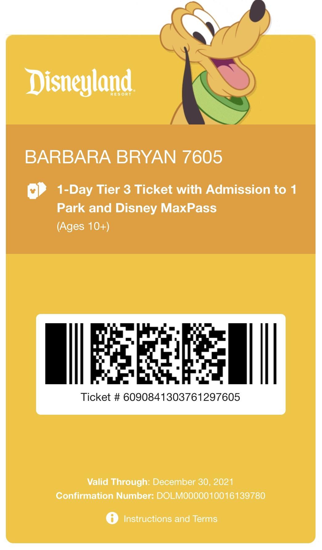 Disneyland App online Disneyland ticket