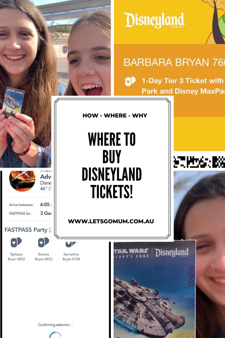 Where to buy Disneyland tickets in Australia