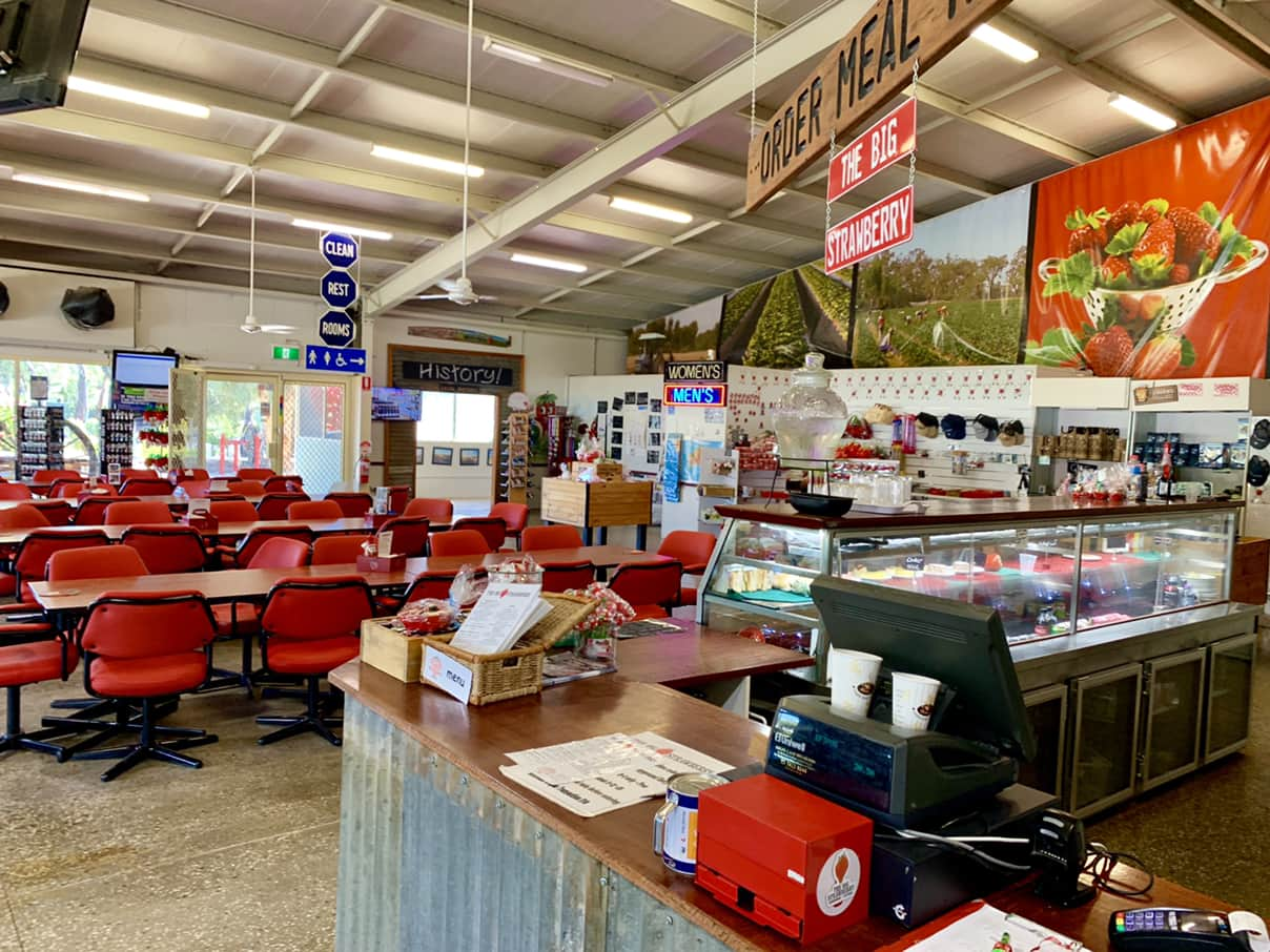 The Big Strawberry restaurant and cafe
