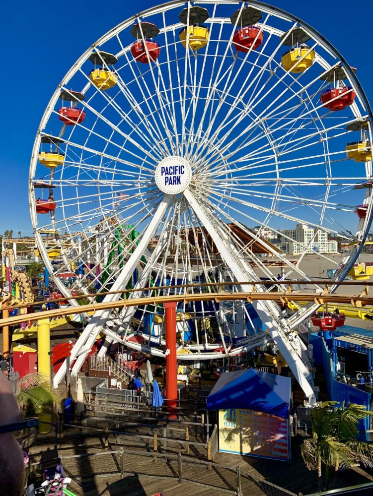 The Santa Monica Ferris wheel
